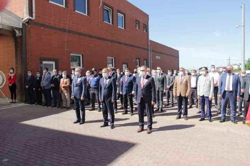 Çayırova 19 Mayıs Bayramını kutladı