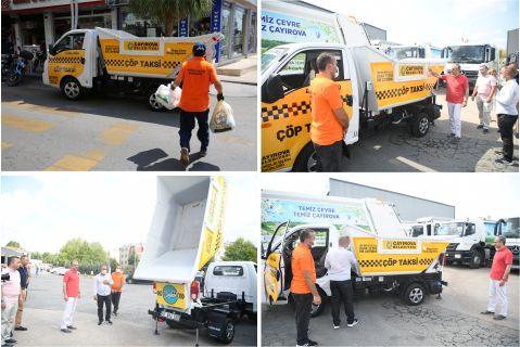 Çayırova ' da Çöp Taksi Hizmete Başladı !