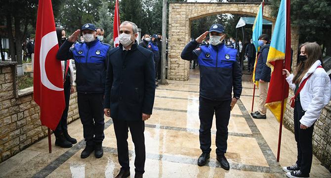 Çayırova'da, Çanakkale Zaferi'nin  yıldönümünde şehitler anıldı