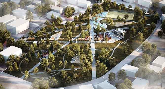 Cevher Dudayev Parkı için ihale gerçekleştirildi