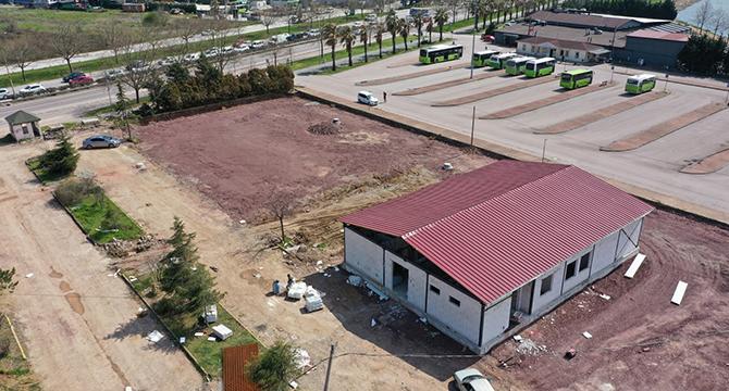 Çocuk Trafik Eğitim Parkı yapı inşası tamamlandı