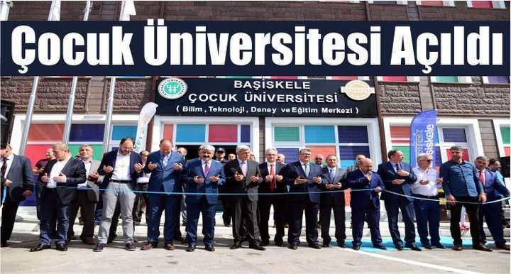 Çocuk Üniversitesi Açıldı
