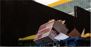 Çöp kutusuna ne attığınızı iki kere düşünün! Suçlulara Fırsat Vermeyin!