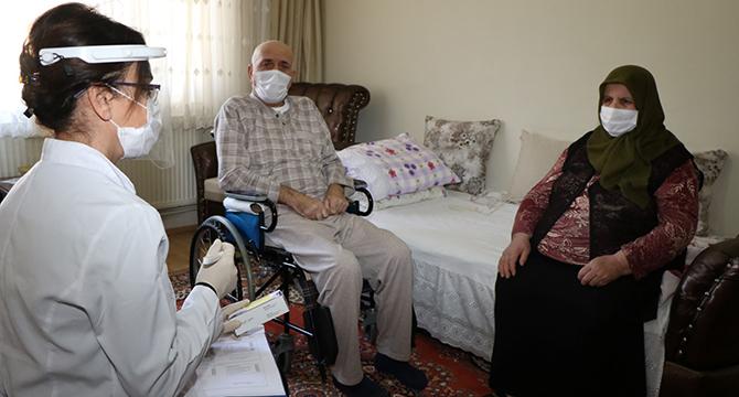 Covid tedavisi gören Mehmet amca; ''Belediyemiz hep bizimleydi''