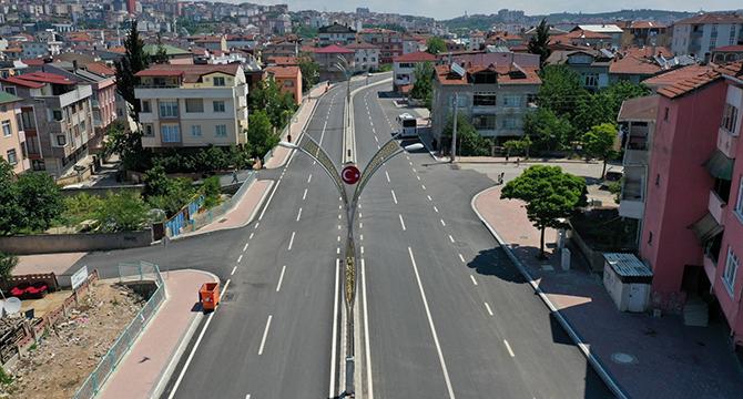 Darıca Cengiz Topel Caddesi'ne son dokunuş