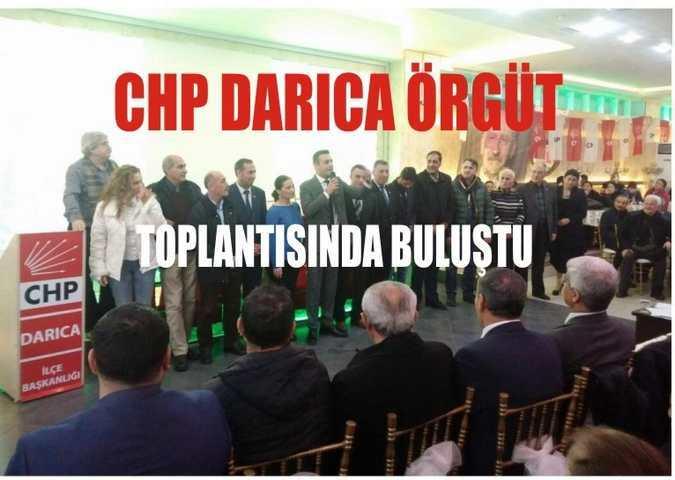 Darıca CHP Üyeleri İle Buluştu