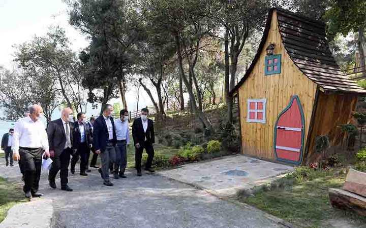 Darıca Sahil Parkı cazibe merkezi olacak