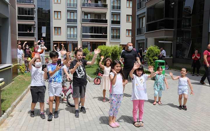 Darıca'da 19 Mayıs coşkusu yaşanıyor