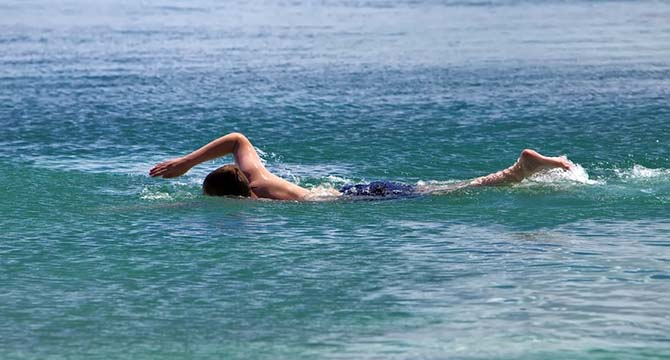 Deniz veya Havuza Girecekler Dikkat !