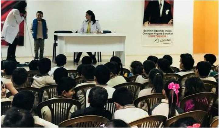Derman Tıp Merkezin'den çocuklara bilgi rehberliği
