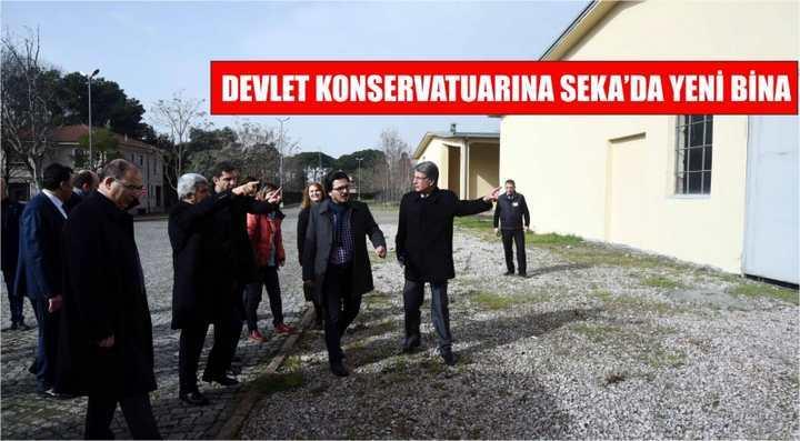 Devlet Konservatuarına Seka'da Yeni Bina