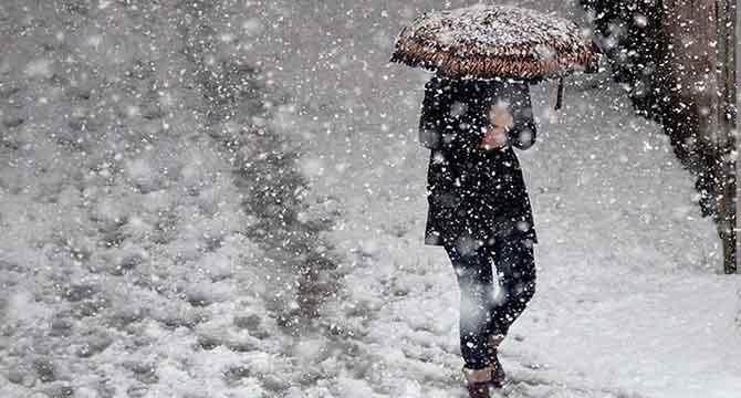 DİKKAT!.. AFKOM'dan kar uyarısı