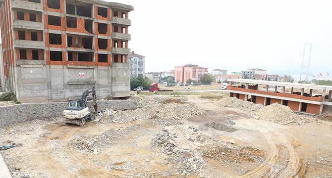 Diliskelesi halı saha ve sosyal tesis inşaatı başladı