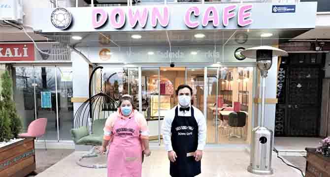 Down kafe hazır, hizmet için gün sayıyor