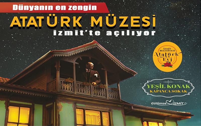 Dünyanın en zengin Atatürk Müzesi