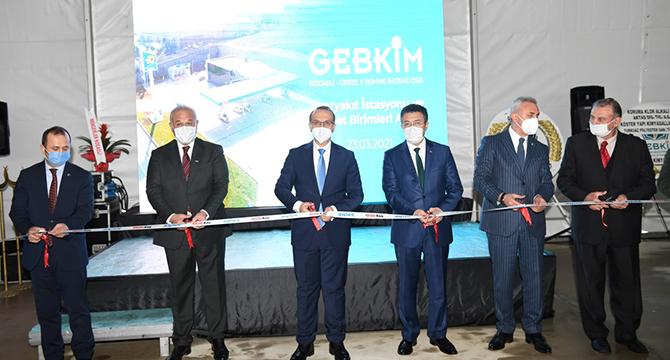 GEBKİM Petrol İstasyonu ve Hizmet Birimleri Açılışı Gerçekleştirildi