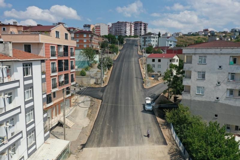 Gebze Fikri Altıokka Caddesi'nde Çalışma