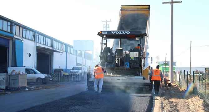 Gebze Pelitli Yolu'nda yol konforu arttırılıyor