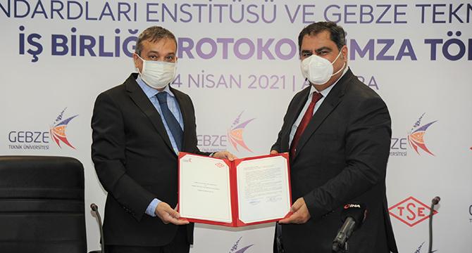 Gebze Teknik Üniversitesi ve TSE Arasında İş Birliği