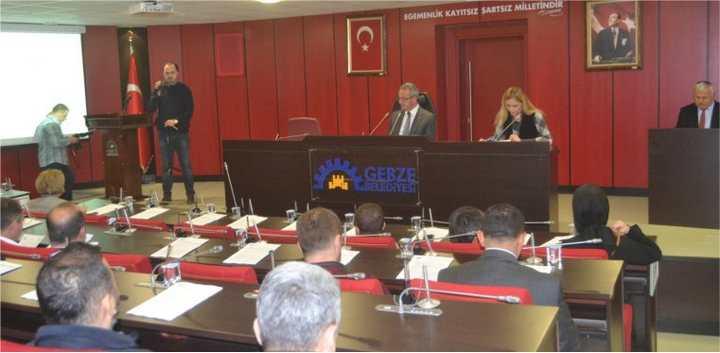 Gebze'de Aralık Meclisi yapıldı