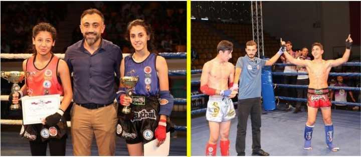 Gebze'de Nefes Kesen Şampiyona