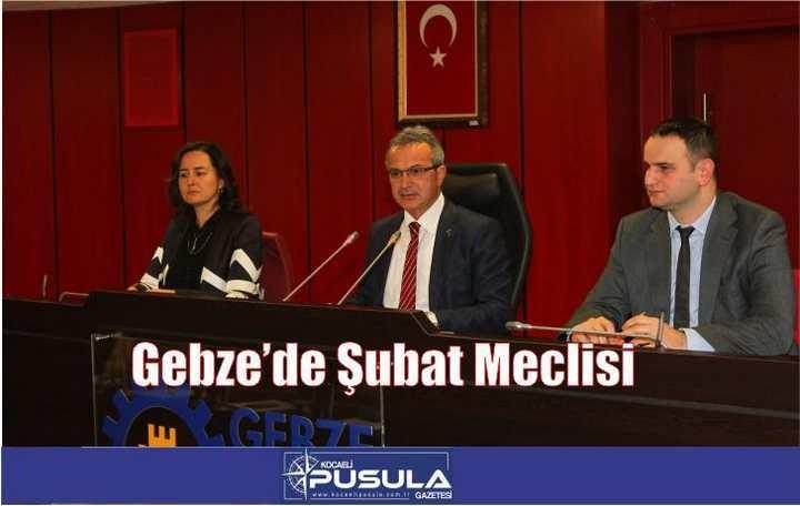 Gebze'de Şubat Meclisi