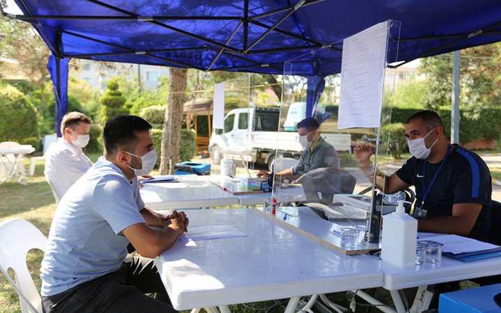 Gebze'de Zabıta Başvuruları Sürüyor