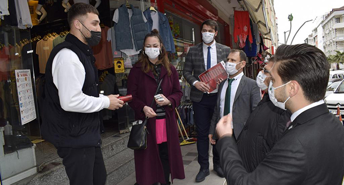 Gelecek Kocaeli'den Çayırova'da esnaf turu