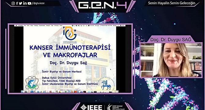 G.E.N. 4 Bilim İnsanlarını Öğrencilerle Buluşturdu