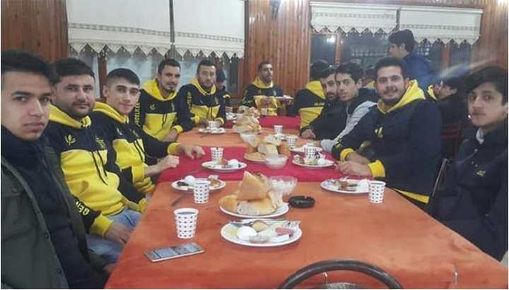 Genç Fenerbahçeliler kahvaltıda buluştu