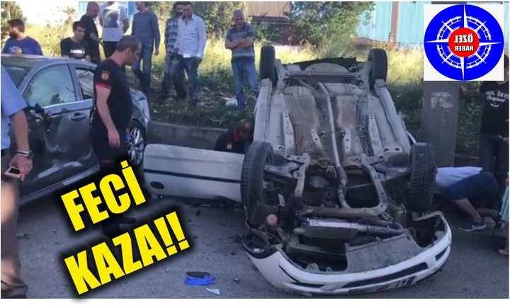 GEZE'DE FECİ KAZA!