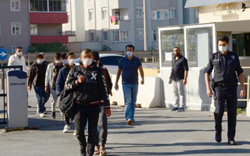 Göçmen kaçakçılığı operasyonu: 11 gözaltı