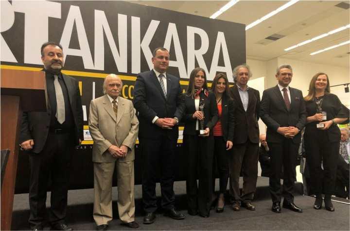 GOSB'a 'Sanata Katkı onur ödülü'