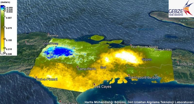Haiti Depremi GTÜ Akademisyenleri Tarafından Haritalandı