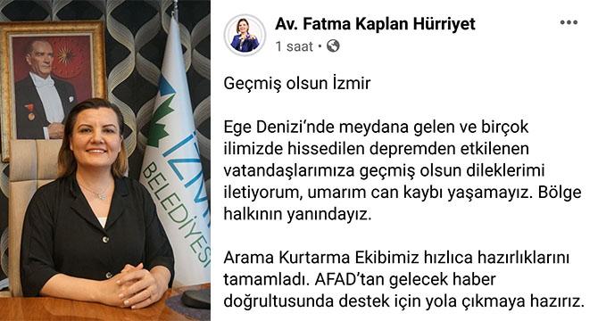Hürriyet: İzmir'e destek için yola çıkmaya hazırız