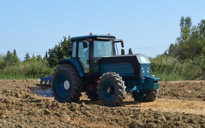 İlk yerli elektrikli traktör burada üretilecek