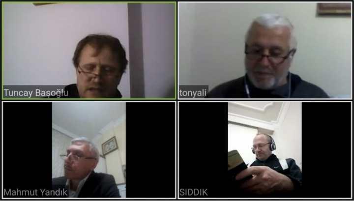 İLKÇEV' den Telekonferansla Kitap Tahlili