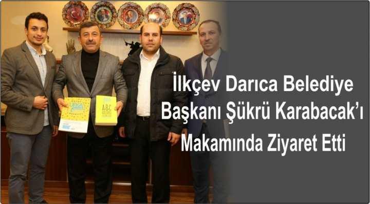 İlkçev'den Başkan Karabacak'a Ziyaret
