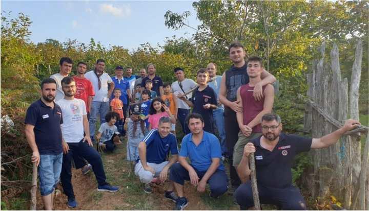 İLKÇEV'den Geleneksel Baba-Oğul Deniz Kampı
