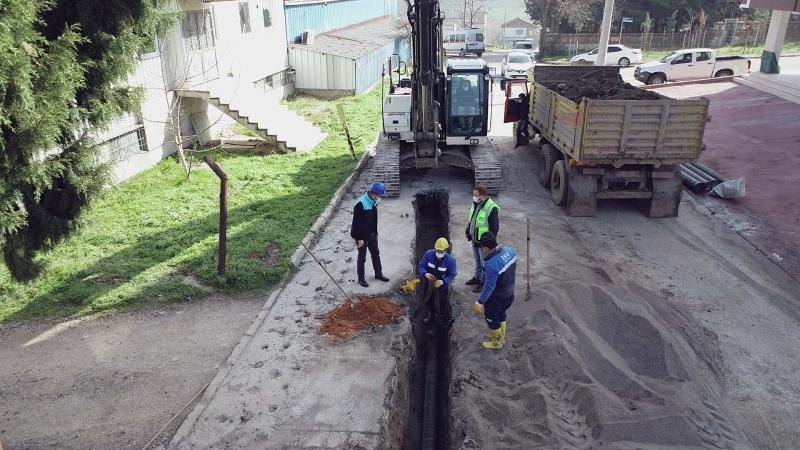 İSU, Selahattin Eyyübi'de çalışmalarını tamamladı
