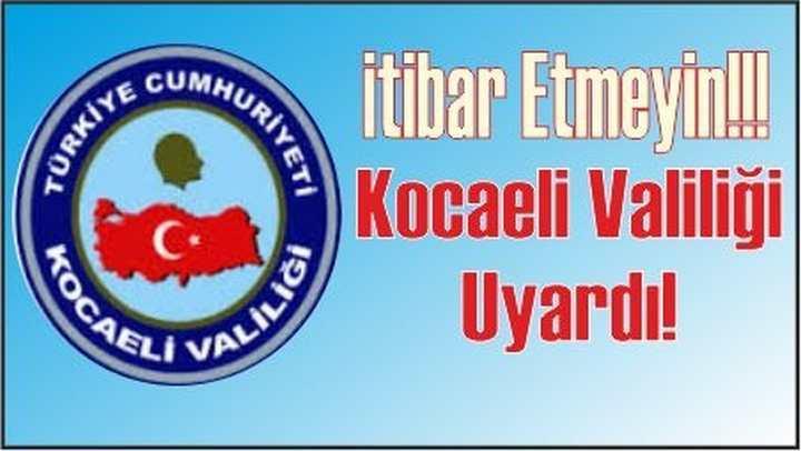 İTİBAR ETMEYİN!!!