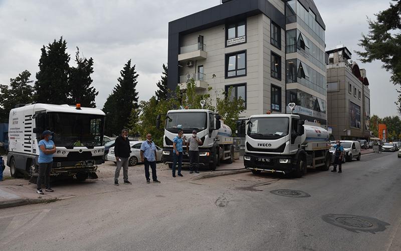 İzmit Belediyesi yağış öncesi teyakkuza geçti