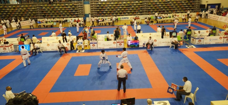 İzmitli Karateciler Urfa'da  Tecrübe Kazandı