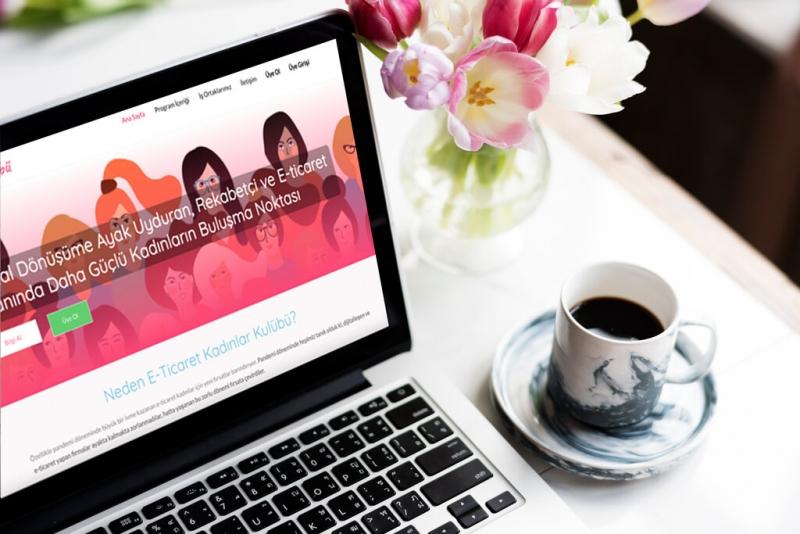 Kadın girişimcilere e-ticaret alanında