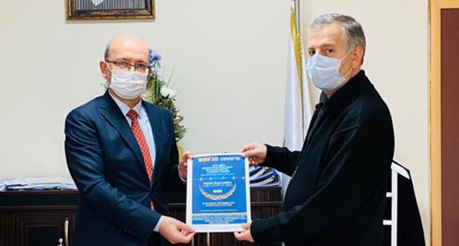 KADIOĞLU Dünya Müslüman Sağlık Toplulukları Kongresine Davet Edildi