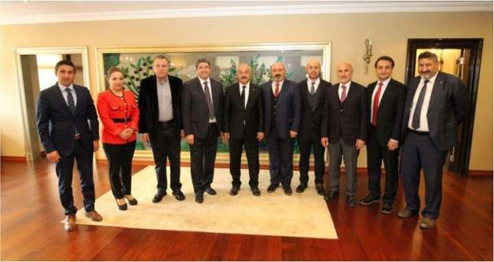 KAISİAD'dan Başkan'a  hayırlı olsun ziyareti