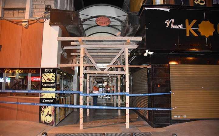 Kapanönü Çarşısı'nda tarihi değişim başladı