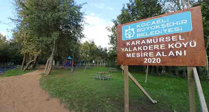 Karamürsel'in yeni mesire alanı hazır