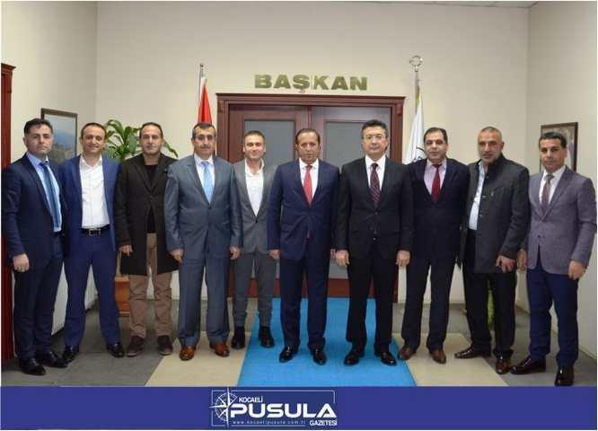 Kaymakam Alkan'dan Başkan Toltar'a İadeyi Ziyaret