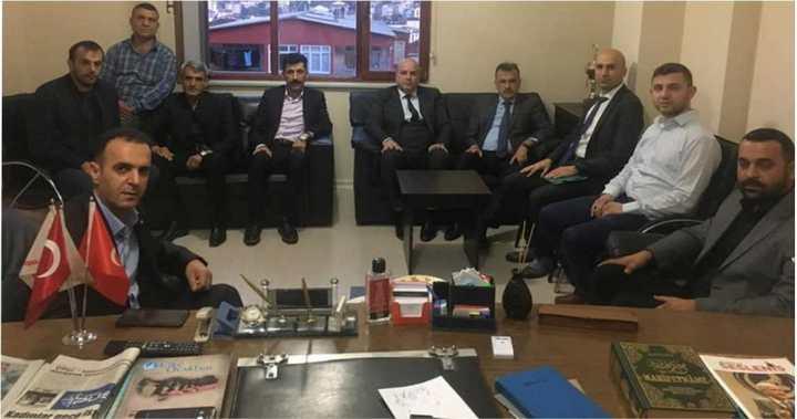 Kaymakam Gözen'den MHP'ye ziyaret